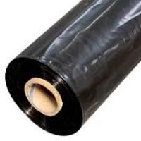 LDPE fólie plochá, 50my, černá, š. role 800mm